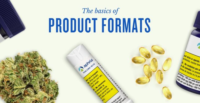 The Basics of Cannabis Product Formats